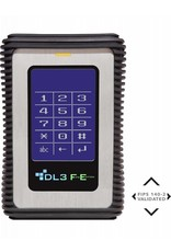 DataLocker DataLocker DL3 FE 1TB External Hard Drive FIPS Edition with Two Pass 256-Bit AES Encryption Mode Hardware Data Encryption with 2 Factor Authentication