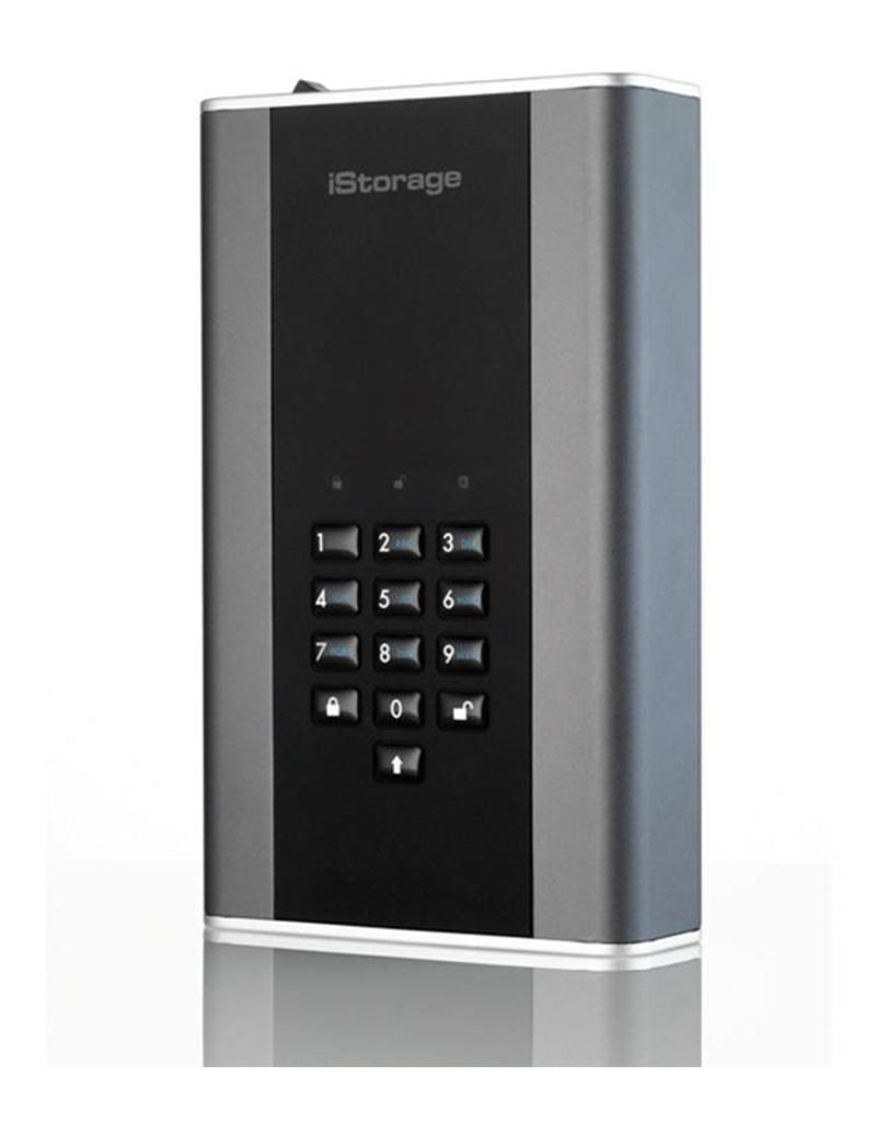 iStorage diskAshur DT2 USB3.1 sichere Desktop-Festplatte - 6TB