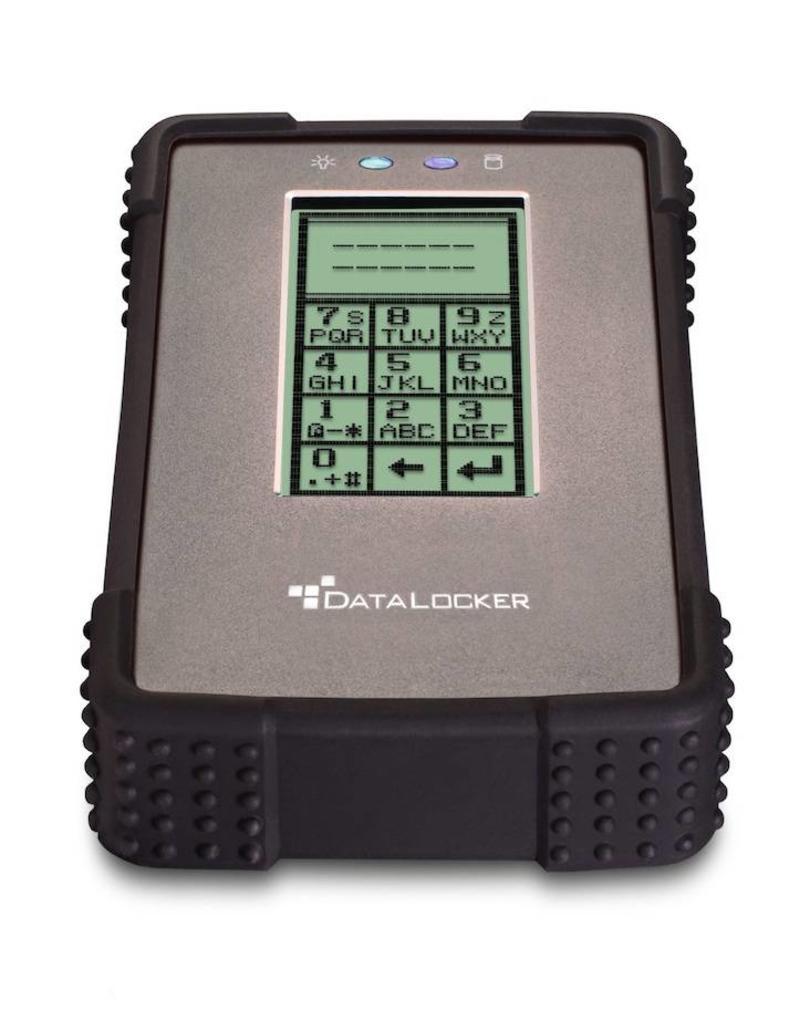 DataLocker DataLocker DL2 1TB Encrypted External Hard Drive