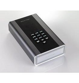 iStorage diskAshur DT2 256-bit - Classified - Graphite - HDD 12TB