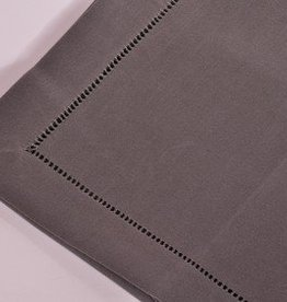 Tafelnap 150x250 dark grey hemstitch