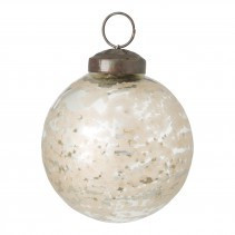 christmas ody, gold glass ball M