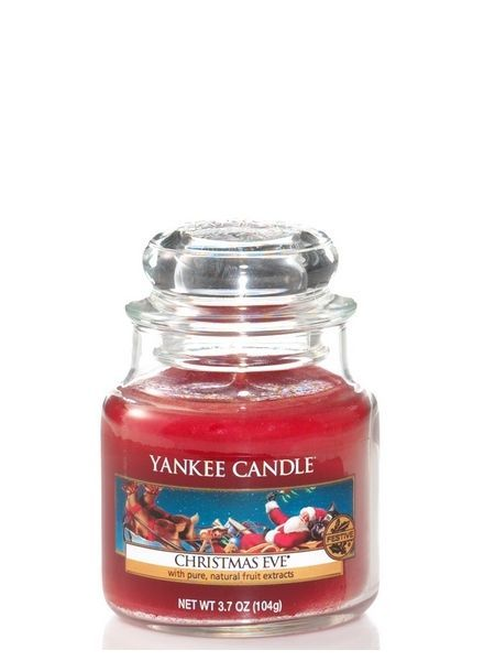 Christmas eve small jar