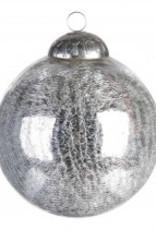 Christmas casual ball antique silver m