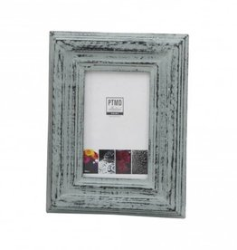 PTMD Madera grey antique mango wood photoframe rect s