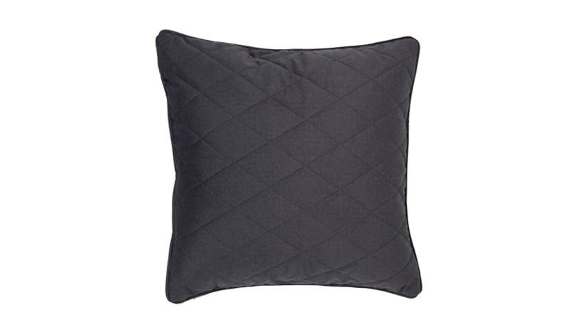 Zuiver pillow diamond square pebble grey 50x50