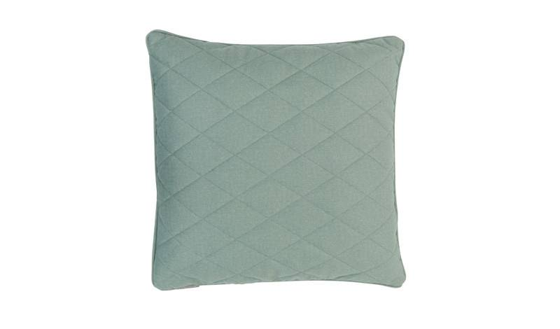 Zuiver pillow diamond square minty green