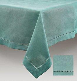 Simla Tafelnap polyvis set green 150x250 hemstitch