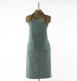 Simla Schort ramie/ katoen groen 63x88 cm