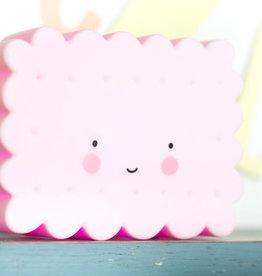 Mini koekjelamp roze