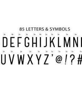 Lightbox letter set basic