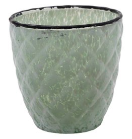 Delight green bombey Glass S