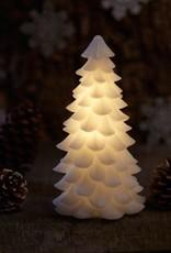 carla christmas tree H 18 cm white