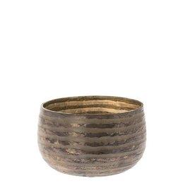 Sfeerlicht Zafira grijs 8 cm