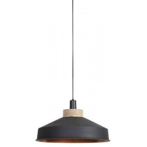 Hanglamp dia 46x26 cm gradient +koper