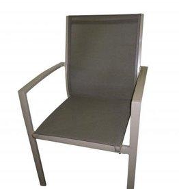 stapelstoel aluminium lio