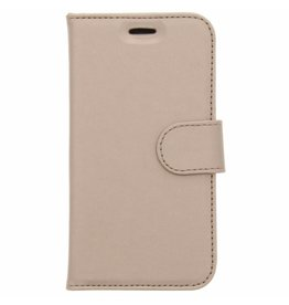 Wallet TPU Booklet Samsung Galaxy J1 (2016) - Gold