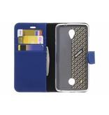 Wallet TPU Booklet voor de Acer Liquid Zest (4G) - Blauw