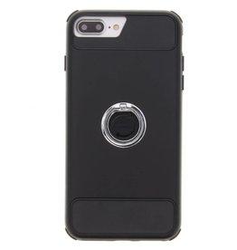 Zwart Xtreme Ring Case iPhone 8 Plus / 7 Plus / 6s Plus / 6 Plus