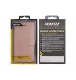 Wallet TPU Booklet Nokia 3 - Rosé Goud