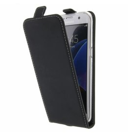 TPU Flipcase Samsung Galaxy S7 Edge - Black