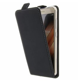TPU Flipcase Huawei P10 Lite - Zwart