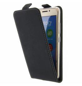 TPU Flipcase Motorola Moto G5 - Zwart