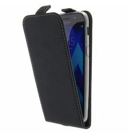 TPU Flipcase Samsung Galaxy A5 (2017) - Black