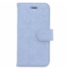 Glitter Wallet TPU Booklet iPhone 8 / 7 - Blue