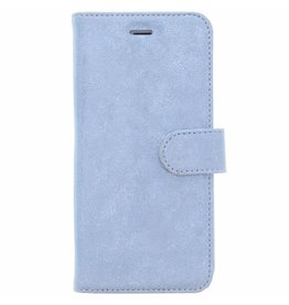 Glitter Wallet TPU Booklet iPhone 8  Plus / 7 Plus - Blue