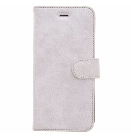 Glitter Wallet TPU Booklet iPhone 8  Plus / 7 Plus - Silver