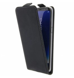 TPU Flipcase Samsung Galaxy S8 - Black