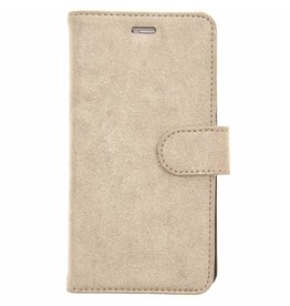 Glitter Wallet TPU Booklet Huawei P9 Lite - Gold