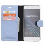 Glitter Wallet TPU Booklet Huawei P9 Lite - Blue