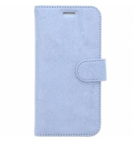 Glitter Wallet TPU Booklet Samsung Galaxy S7 Edge - Blue