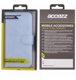 Glitter Wallet TPU Booklet Samsung Galaxy S7 Edge - Blue