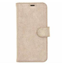 Glitter Wallet TPU Booklet Samsung Galaxy S8 - Gold