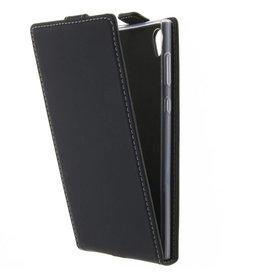 TPU Flipcase Sony Xperia L1 - Zwart