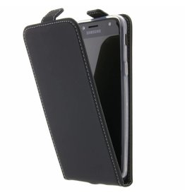 TPU Flipcase Samsung Galaxy J5 (2017) - Black