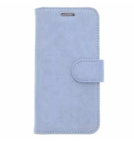Glitter Wallet TPU Booklet Samsung Galaxy S7 - Blue
