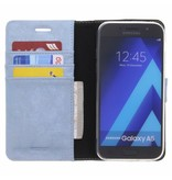Glitter Wallet TPU Booklet Samsung Galaxy A5 (2017) - Blue
