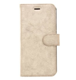 Glitter Wallet TPU Booklet iPhone 8 Plus / 7 Plus - Gold