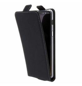 TPU Flipcase Samsung Galaxy A8 (2018) - Black