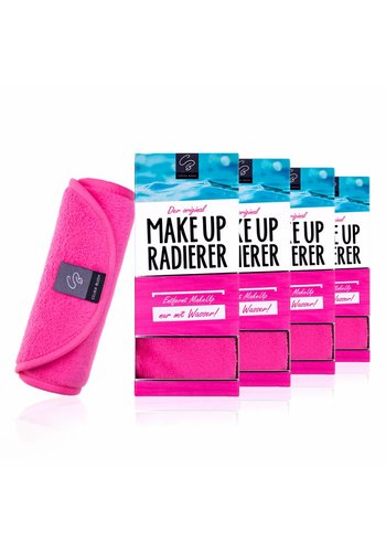 Celina Blush Limango-Deal: 4er-Set MakeUp Radierer (Pink)