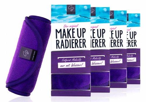 Celina Blush Sparpaket 4 x MakeUp Radierer (Lila) 25% Rabatt!