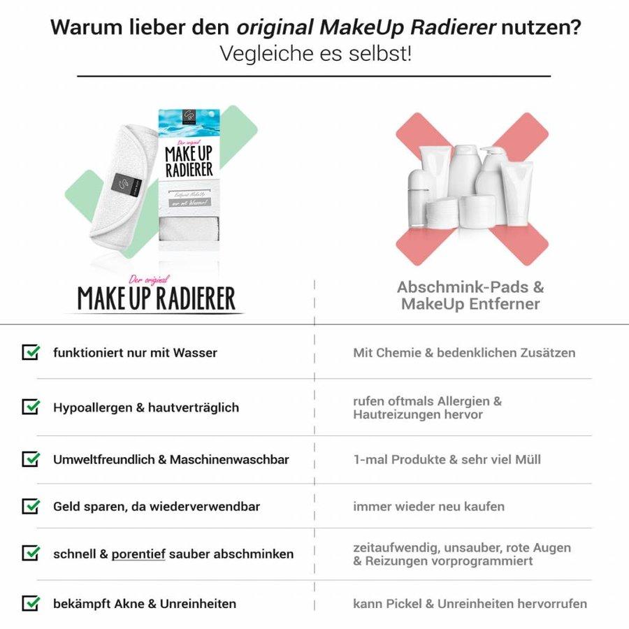 Limango-Deal: 4er-Set MakeUp Radierer (Weiß)