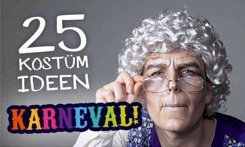 25 Kostümideen für einen glänzenden Auftritt zu Karneval