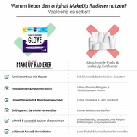 MakeUp Radierer GLOVE | 2-er Set (Lila)