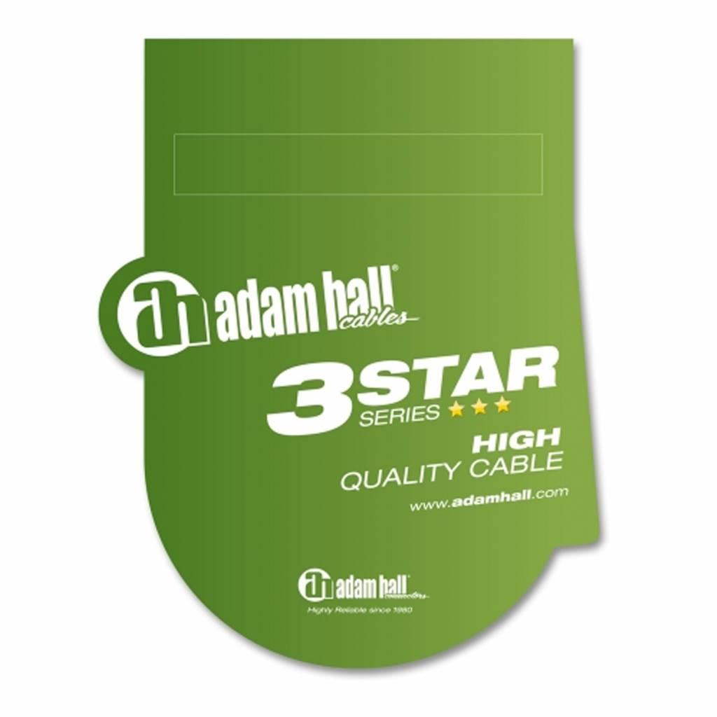 ADAM HALL Adam Hall 6,0m Instrumenten Kabel KL-KL K3 IPP 0600