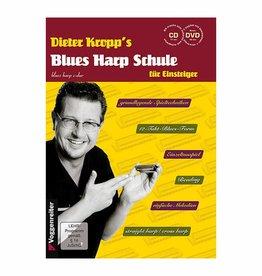 Voggenreiter Voggenreiter Dieter Kropp's Blues Harp Schule (Mit CD und DVD)